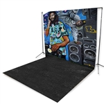 Music Mural Extended Printed Backdrop