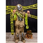 Crime Tape Printed Backdrop