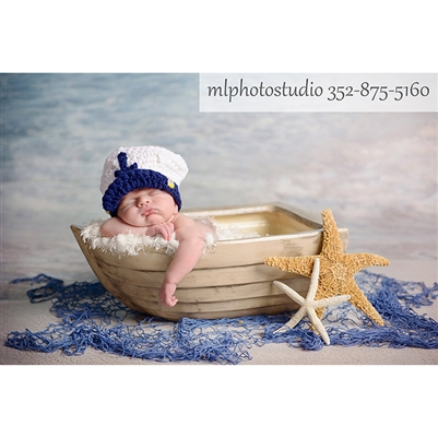 Sea Captain Crochet Hat Backdrop Express
