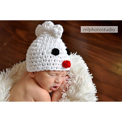 Little Chick Crochet Beanie