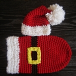 Santa Hat & Cocoon Set