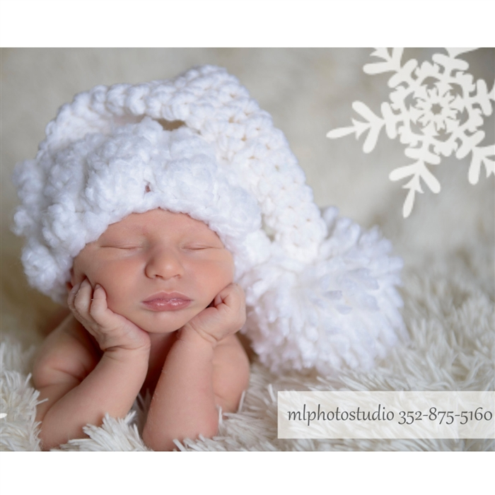 white christmas crochet elf hat backdrop express