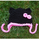Little Kitty Hat with Bow