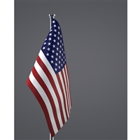 Formal American Flag Printed Backdrop
