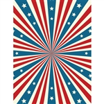 Stars and Stripes Forever Printed Backdrop
