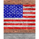 American Brick Printed Backdrop