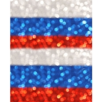 Patriotic Glitter Printed Backdrop