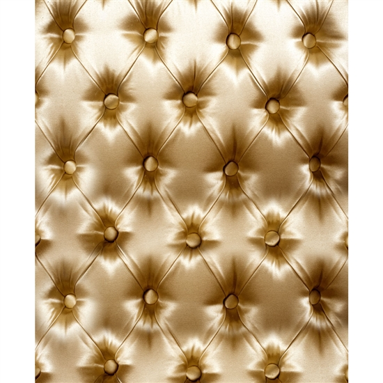 Gold Tufted Printed Backdrop Backdrop Express