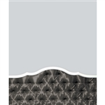 Dark Gray Tufted Printed Backdrop