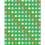 Ornament Wrapping Paper Printed Backdrop