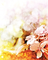 Easter Flowers Printed Backdrop 001