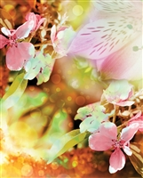 Easter Flowers Printed Backdrop 003