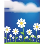 Daisies Printed Backdrop