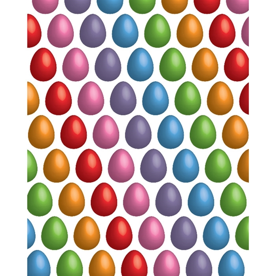 Colorful Eggs Printed Backdrops