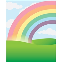 End of the Rainbow Printed Backdrop