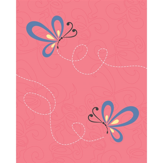 Butterflies Printed Backdrop
