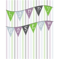 """Happy Easter"" Banner Printed Backdrop"