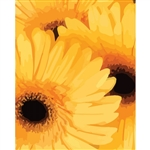 Giant SunflowersPainted Sunflowers Printed Backdrop