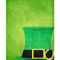 Irish Hat Printed Backdrop
