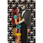 Skull & Crossbones Printed Backdrop