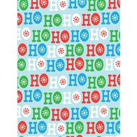 Ho Ho Ho Christmas Printed Backdrop