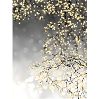 Gold Sparkle Trees Backdrop