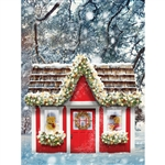 Christmas Playhouse Backdrop