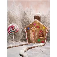 Gingerbread Dreams Backdrop