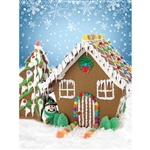 Gingerbread Joy Backdrop
