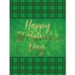 St Patricks Day Printed Backdrop