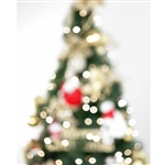 Shining Christmas Tree Printed Backdrop