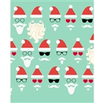 Cool Claus Printed Backdrop