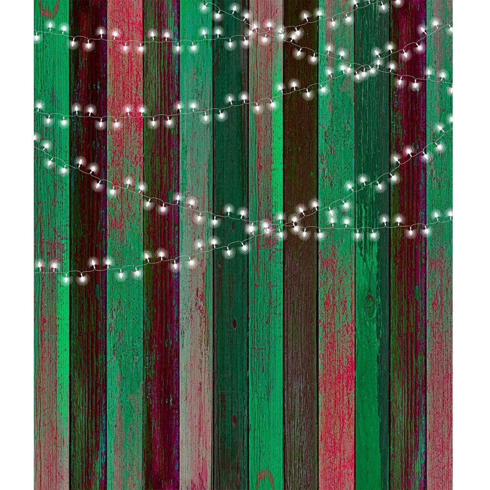 Holiday Lights Printed Backdrop Backdrop Express