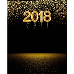 New Year's Party Printed Backdrop