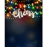 Holiday Cheer Printed Backdrop