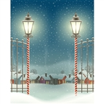 Holiday Gates Printed Backdrop