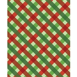 Holiday Plaid Printed Backdrop
