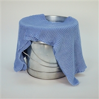 Light Blue Knit Blanket