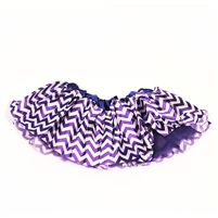 Purple Chevron Satin Tutu