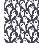 Ghost Emotions Printed Backdrop