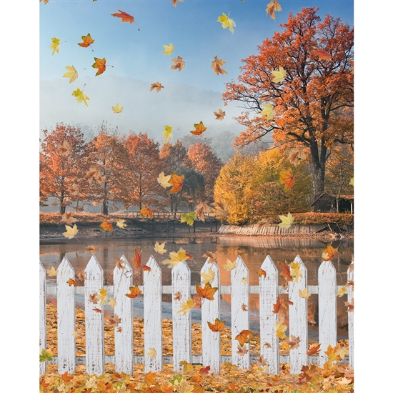 Autumn Morning Printed Backdrop