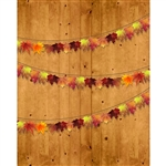 Autumn Garland Printed Backdrop