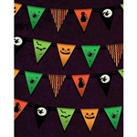 Trick-or-Treat Bunting Backdrop
