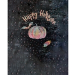 Halloween Chalkboard Printed Backdrop