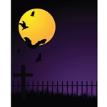 Halloween Night Printed Backdrop