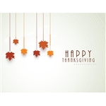 Happy Thanksgiving Printed Backdrop