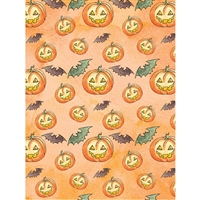 Jack O'Lantern Printed Backdrop