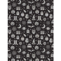 Halloween Noir Printed Backdrop