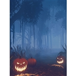 Spooky Forest Printed Backdrop