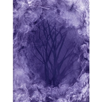 Spooky Woods Printed Backdrop